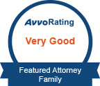 Avvo Rating Very Good Featured Attorney Family